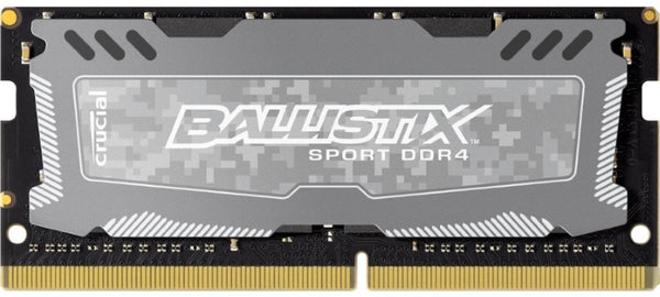 Crucial Ballistix Sport LT 8GB (1x8GB) DDR4 SODIMM 2666MHz CL16 16-16-16 Gaming Memory for Desktop PC Grey Color
