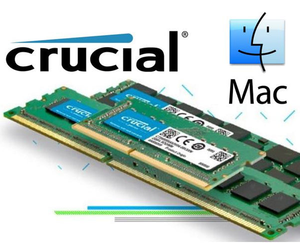 Crucial 8GB (1x8GB) DDR3 SODIMM 1866MHz for MAC 1.35V Single Stick Desktop for Apple Macbook Memory RAM