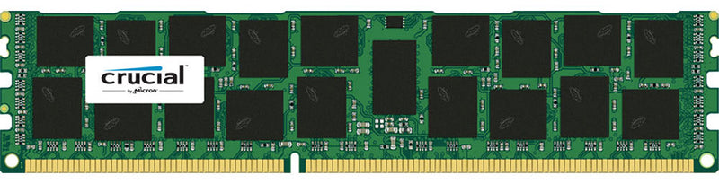 Crucial 16GB (1x16GB) DDR3 RDIMM 1600MHz ECC Registered 1.35V Single Stick Server Desktop PC Memory RAM