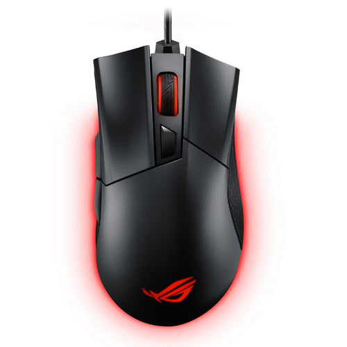 ASUS CERBERUS FORTUS Gaming Mouse magnesium alloy base, Omron switches, customizable multicolor RGB LED lighting, DPI switch