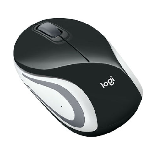 Logitech M187 Wireless Mouse Black/White/Red
