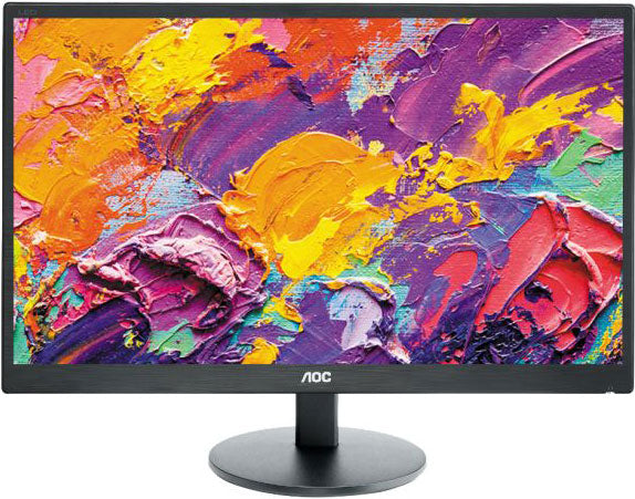 AOC 23.6' 1ms Full HD Monitor - HDMI/DVI/VGA, Tilt, VESA100mm, Speaker