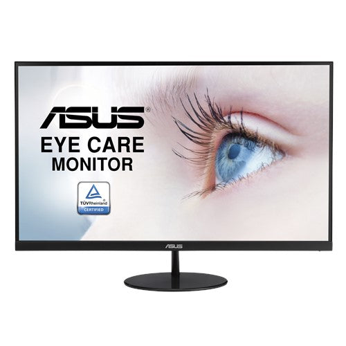 ASUS VL279HE Eye Care Monitor – 27-inch, IPS, 75Hz, Adaptive-Sync/FreeSync™, Frameless, Slim, Wall Mountable, Flicker Free, Blue Light Filter
