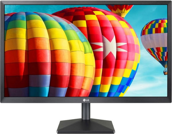 LG 27' IPS 5ms Full HD FreeSync Monitor - HDMI/VGA Tilt VESA100mm Flicker Safe -