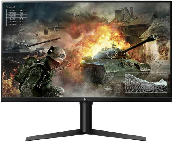 LG 31.5' VA IPS-Type 1ms 144Hz 2560x1440 FreeSync Borderless Gaming Monitor w/HAS PIVOT - 2HDMI/DP VESA100mm Height Adjustable 1ms (LS)