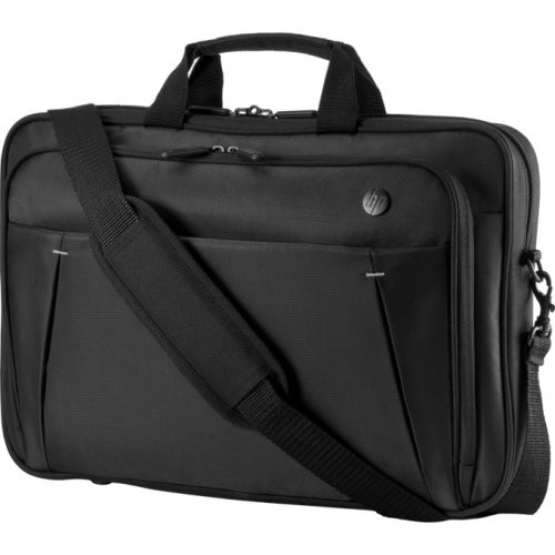 HP 15.6' Essential Topload Notebook Laptop Bag Carry Case Black Colour Smooth Carry Handles Shoulder Strap Light Weight Durable fit 16' 15' 14' 13' 12