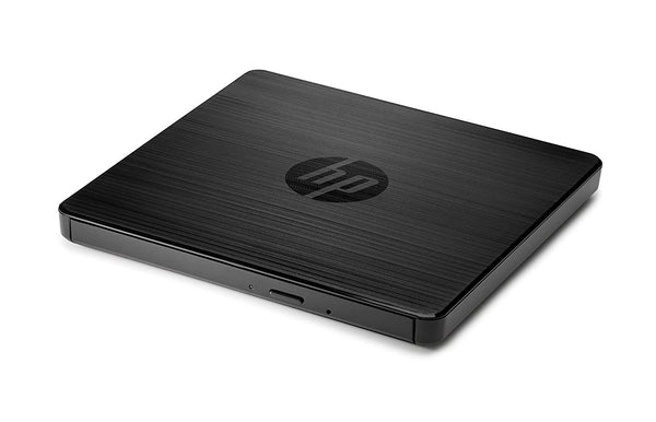 HP 8x Ultra Slim Portable External USB ODD DVDRW Burner Re-Writer Drive No AC Adapter Required PC Mac Notebook Laptop Computer
