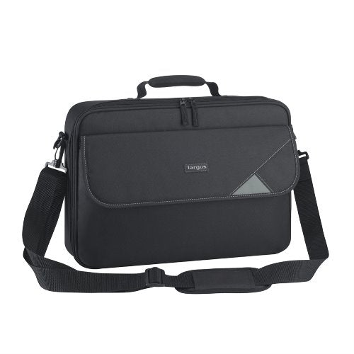 Targus 15.6' Intellect Bag Clamshell Laptop Case with Padded Laptop Compartment - Black