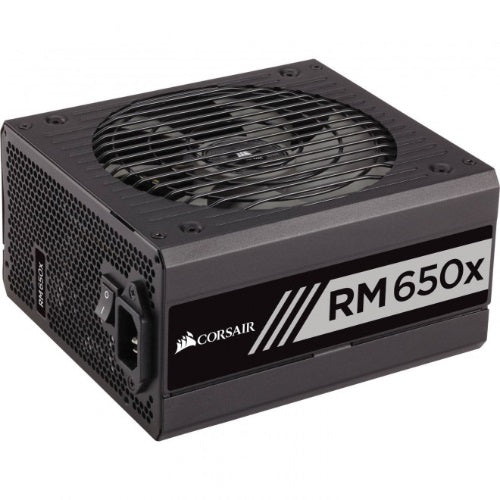 Corsair 650W v2 RMX 80+ Gold Fully Modular 135mm FAN ATX PSU 10 Years Warranty