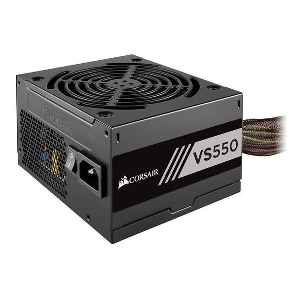 Corsair 550W VS Series V2, VS550, Active PFC, 80 PLUS White Certified Power Supply (LS)