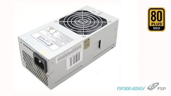 FSP 300W 80+ Gold OEM 80mm FAN TFX PSU 1 Year Warranty for Chenbro PC