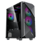 GAMEMAX Revolt RGB Mid-Tower ATX Tempered Glass Gaming Case (RGB Fans not included)