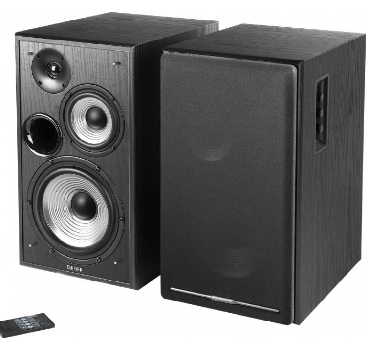 Edifier R2750DB Active 2.0 Speaker System with Sophisticated Sound in a Tri-amp Audio - Bluetooth Connection 1/2inch Bass Driver 136W RMS System BLACK