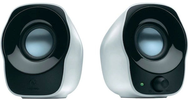 Logitech Z120 USB Powered Speakers 3.5mm Audio/Volume Control/USB