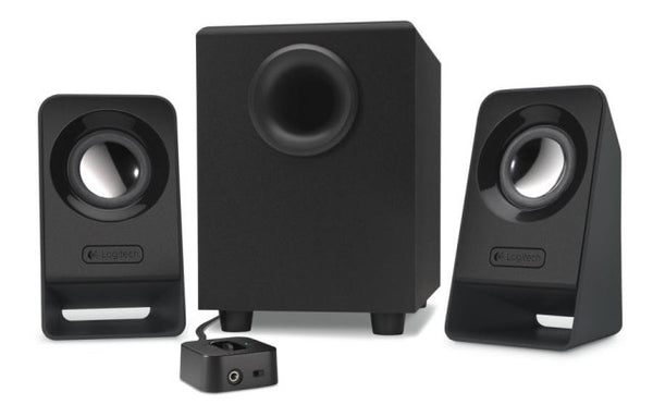 Logitech Z213 2.1 Speaker Syst 3.5mm Jack/7w RMS/Volume On/Off