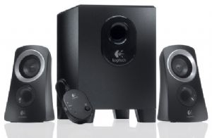 Logitech Z313 Speakers 2.1 2.1 Stereo,Compact Subwoofer Rich sound Simple setup Easy controls
