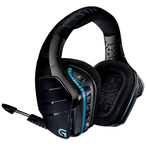 Logitech G933 Artemis Spectrum 7.1 Wireless Surround Gaming Headset Pro-Gtm Audio driver RGB lighting Programmable G-keys Noise cancelling mic LS
