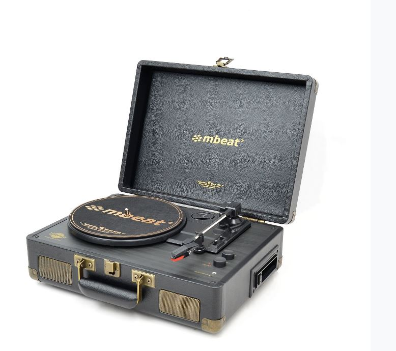 mbeat® Uptown Retro Bluetooth Turntable & Cassette Player