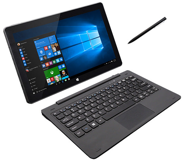 Leader Tablet 12W2PRO, 11.6' Full HD, Intel Celeron, 4GB, 64GB Storage, Touch, Inking (Pen), Window 10 Professional, Onsite Warranty, Keyboard