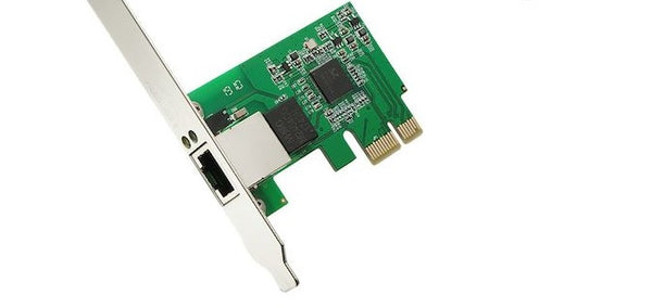 PCI-E Gigabit Ethernet Network Card (Low Profile Bracket Included)