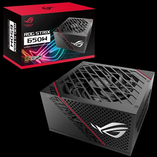 ASUS ROG Strix 650W Gold PSU Premium Cooling Performance