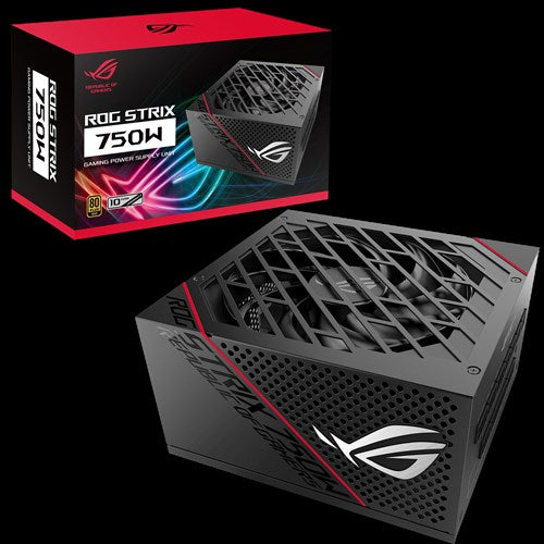 ASUS ROG Strix 750W Gold PSU Premium Cooling Performance