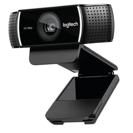 Logitech C922 Pro Stream Full HD Webcam 30fps at 1080p Autofocus Light Correction 2 Stereo Microphones