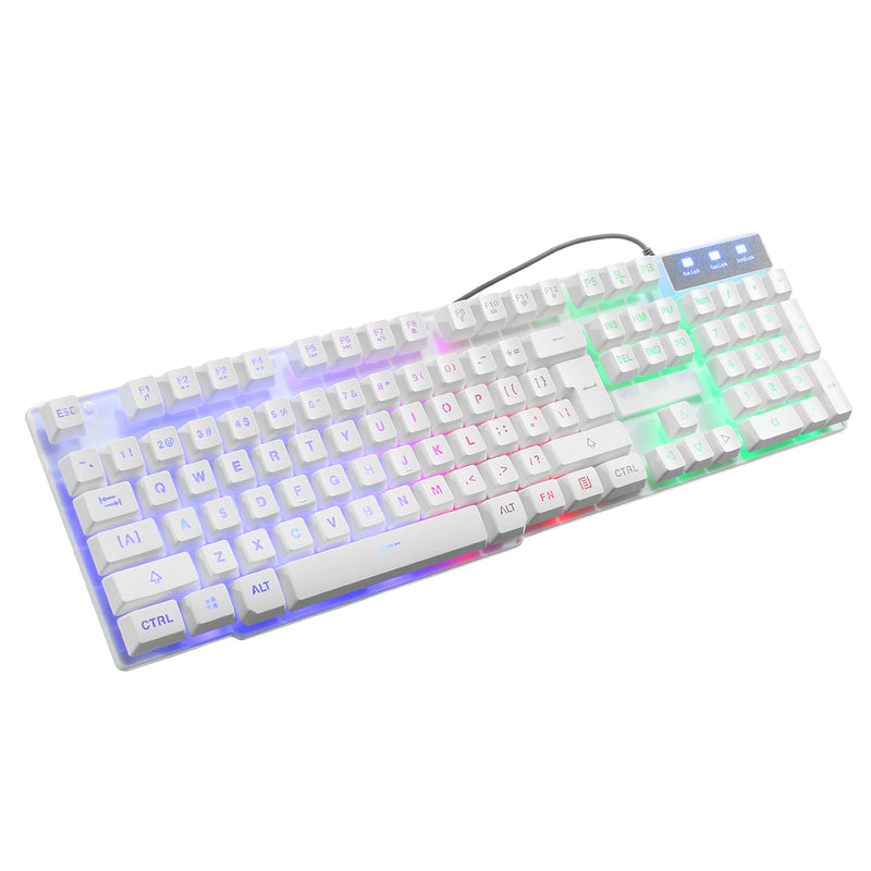 Kuiyn T6 Multi-color Backlit Gaming Keyboard, Mouse & Mouse Pad Combo