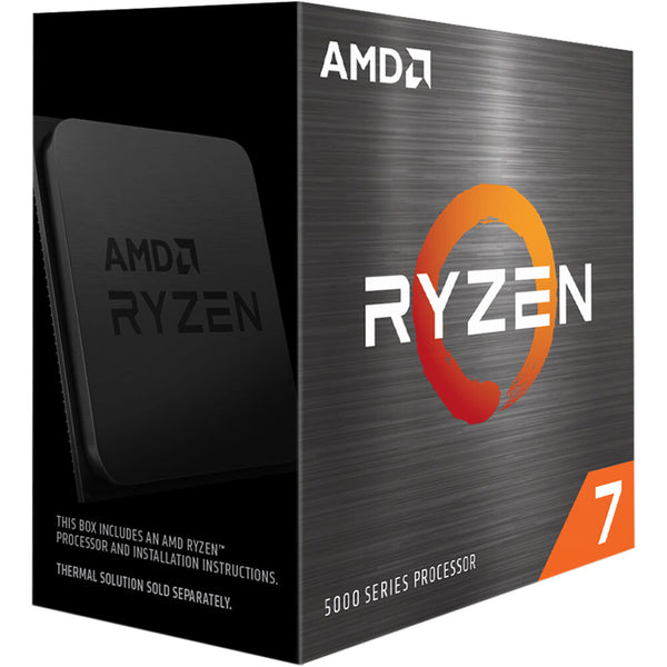 AMD Ryzen 7 5800X CPU, 8 Cores/16 Threads, Up to 4.7 GHz