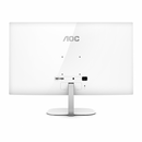 "AOC 31.5"" VA Panel 5ms QHD 2560x1440, HDMI, DP, 75Hz, 3-sided Narrow Frame, VESA 100 x 100mm wall mountable, White colour"