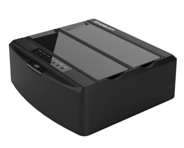 "Simplecom SD312 Dual Bay USB 3.0 Docking Station for 2.5"" and 3.5"" SATA Drive"