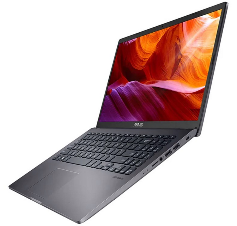 ASUS D509DA Slate Gray Laptop, Ryzen 5-3500U, 8GB (2x 4GB) RAM, 512GB M.2 PCIE SSD, 15.6inch HD, AMD Radeon Vega 8 Graphics, WiFi 5, BT 4.1, Webcam, 2 Cell Battery, 1.9kg, Win10 Home