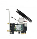 Intel Dual Band M.2 Wireless-AC 7260 Card, AC1200/Bluetooth 4.0 (PCI-E Adapter Card, Low Profile Bracket & Antenna included)
