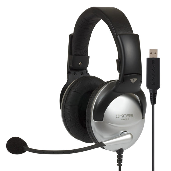 Koss SB45 USB Full Size Communication Headsets