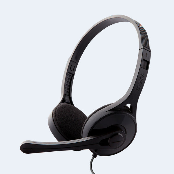 Edifier K550 Stereo Headset 3.5mm with Mic (USB Adapter Included)