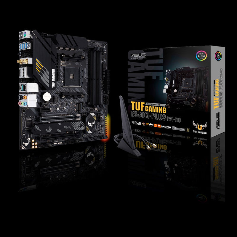 ASUS TUF Gaming B550M-PLUS WiFi AM4 Micro ATX Motherboard