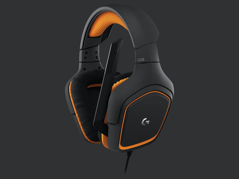Logitech G231 Prodigy Stereo Gaming Headset with Microphone for PC, Playstation 4, Xbox ONE, Nintendo Switch, VR, Android and iOS ~G230