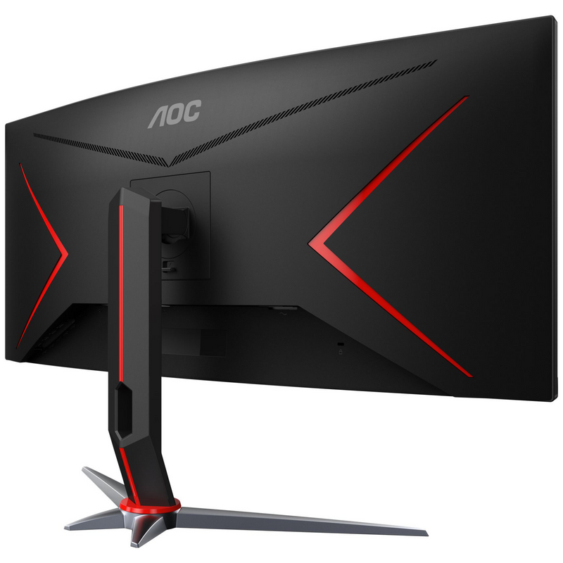 "AOC 34"" Curved 3440 x 1440 21:9, 1ms, HDR, Ultra Fast 144Hz Panel, Adaptive Sync Gaming Monitor"