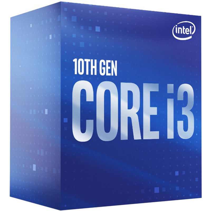 Intel Core i3-10100 CPU 3.6GHz (4.3GHz Turbo) LGA1200 10th Gen 4-Cores 8-Threads 6MB 65W UHD Graphic 630 Retail Box 3yrs Comet Lake