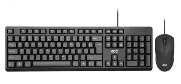 AOC KM160 Wired Keyboard & Mouse Combo