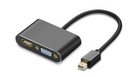 Mini Display Port Male to HDMI/VGA 4K*2K Female Adapter