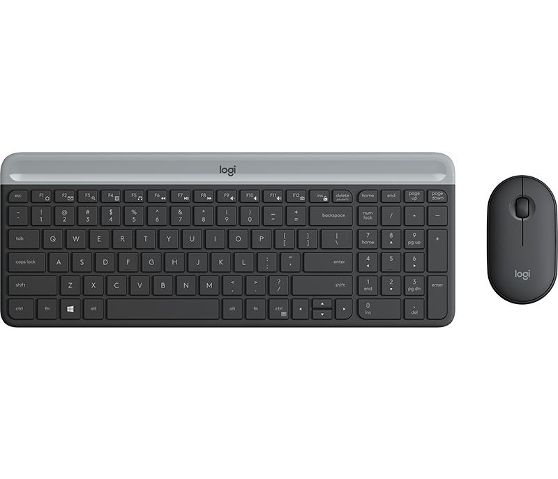 Logitech MK470 Slim Wireless Keyboard Mouse Combo