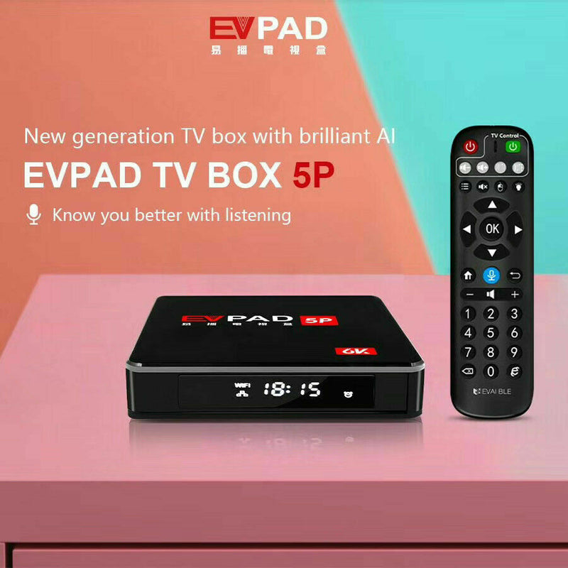 EVPAD 5P(6K) Android Smart TV BOX with Voice Control