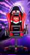 Emission Gaming Chair with Footrest