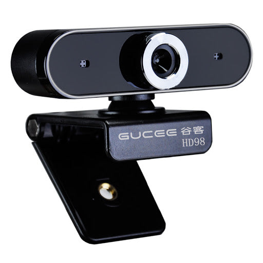 GUCEE HD98 480p USB Webcam with Built-in Mic