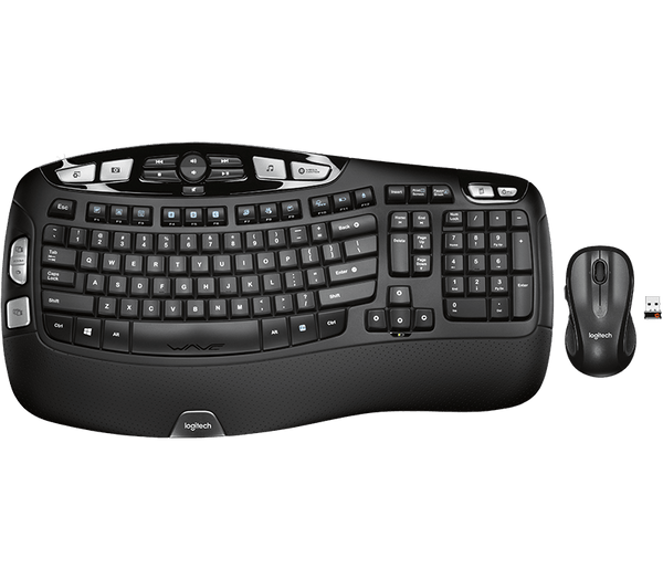 Logitech MK550 Wave Wireless Keyboard & Mouse Combo