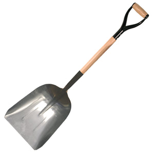 #12 Aluminum Scoop with D Handle