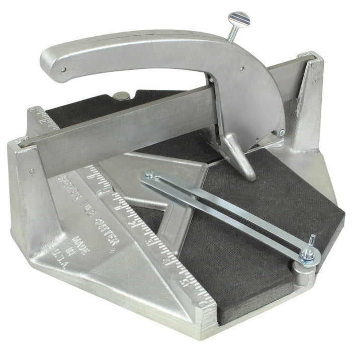 "#1A-400 Tile Cutter 12""x12"" with #400 Carbide Wheel"