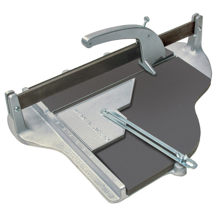 "#3 Tile Cutter 16""x21-1-2"" with #400 Carbide Wheel"