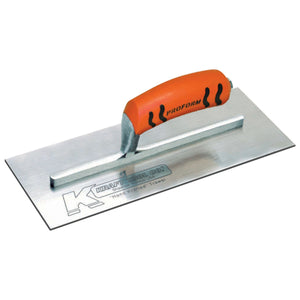 "12""x 5"" Carbon Plaster Trowel w-ProForm Handle - 9-5-8"" Shank"